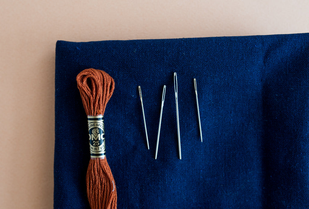 Wat voor naald gebruik je voor borduren? | What needle do you use for embroidery?
