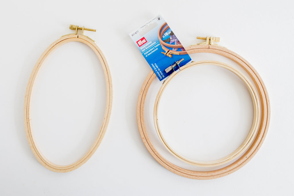 Wat voor borduurringen zijn er? | What kind of embroidery hoops are there?
