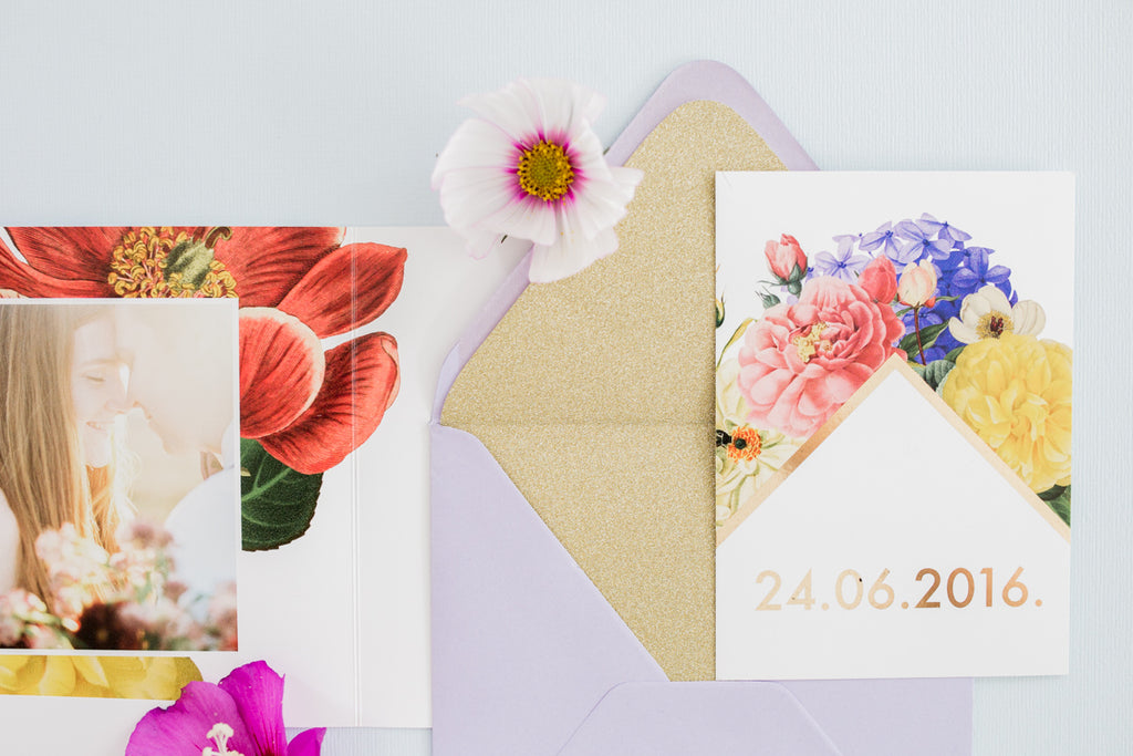 DIY // Zo voer je een envelop! | DIY // How to line an envelope!