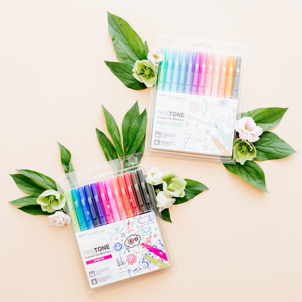 ALLES OVER // Tombow Twin Tone - een fijn duo! | ALL ABOUT // Tombow Twin Tone - a great duo!