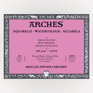Arches Hot Pressed 31x41 300gms 20 sheets