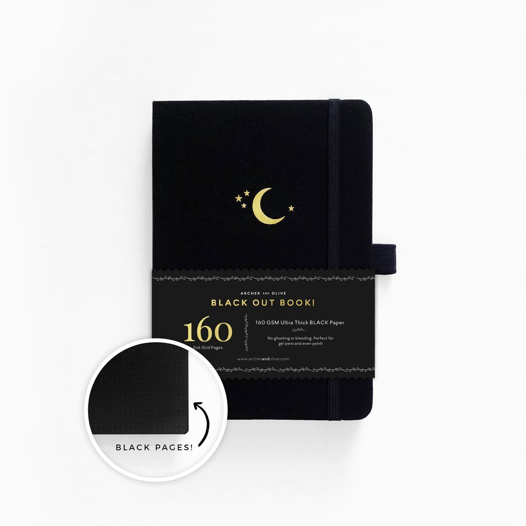 Archer&Olive The Blackout Book Crescent Moon