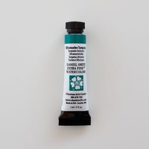Daniel Smith Extra Fine Watercolors 5ml Ultramarine Turquoise 1