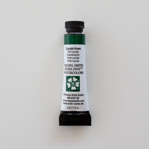Daniel Smith Extra Fine Watercolors 5ml Cascade Green 1