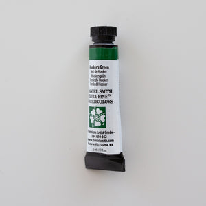 Daniel Smith Extra Fine Watercolors 5ml Hooker's Green 1