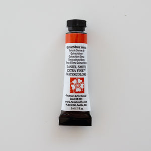 Daniel Smith Extra Fine Watercolors 5ml Quinacridone Sienna 2