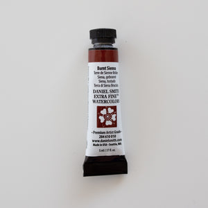 Daniel Smith Extra Fine Watercolors 5ml Burnt Sienna 1