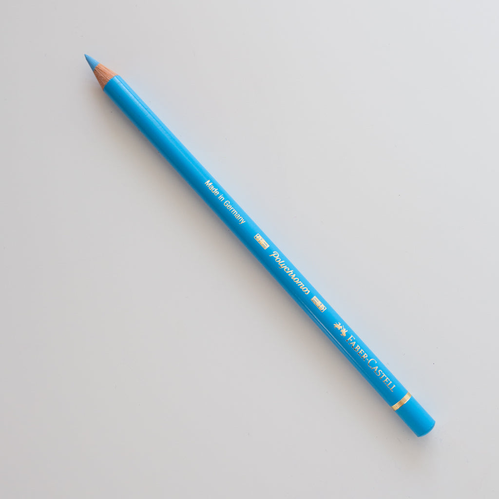 Faber Castell Polychromos 145 Light Phthalto Blue