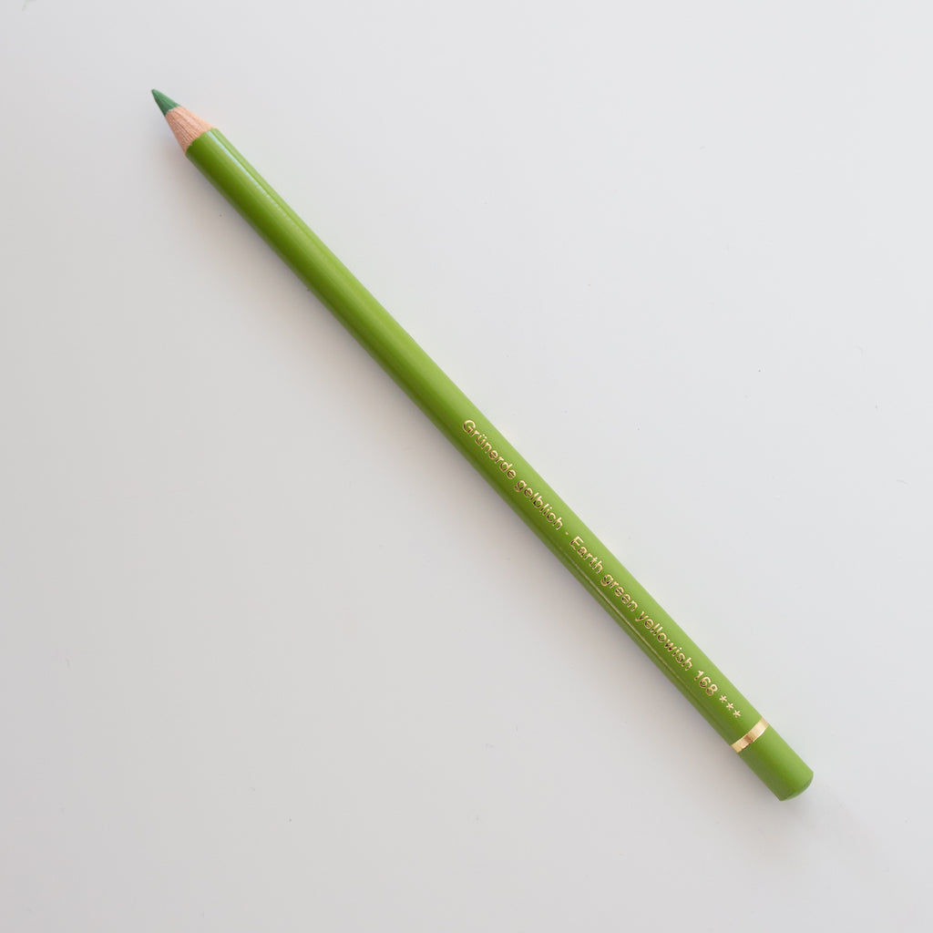 Faber Castell Polychromos 168 Earth Green Yellowish