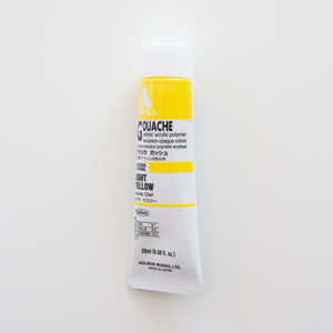Holbein Acryla Gouache D032 A 'Light Yellow'