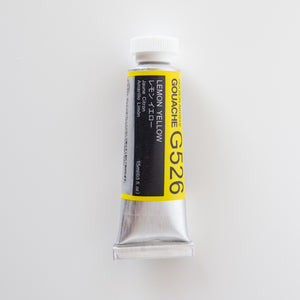 Holbein Artists Gouache G526 'Lemon Yellow' A