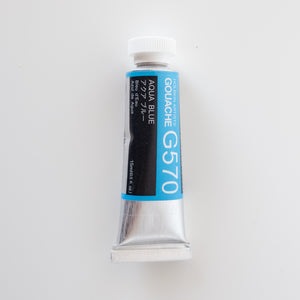 Holbein Artists Gouache G570 'Aqua Blue' A