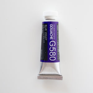 Holbein Artists Gouache G580 'Blue Violet' B