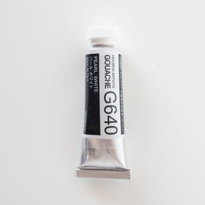 Holbein Artists Gouache G640 'Pearl White' C