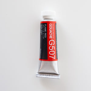 Holbein Artists Gouache G507 'Flame Red'