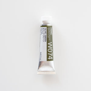 Holbein Artists Watercolor 5ml W074 'Olive Green' A