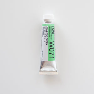 Holbein Artists Watercolor 5ml W071 'Compose Green #1' A