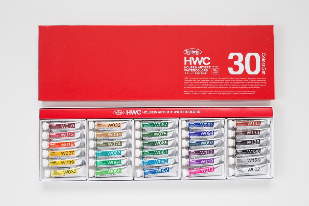 Holbein Artists' Watercolor set 30 5ml