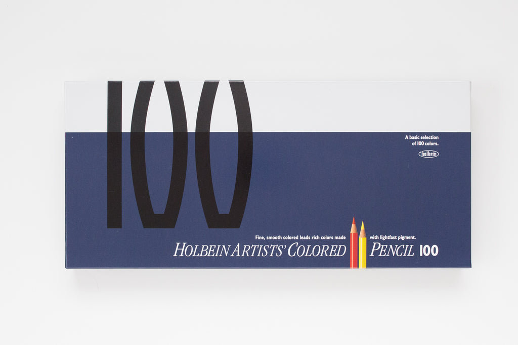 OP940 'Set 100 colors' Colored Pencil Holbein