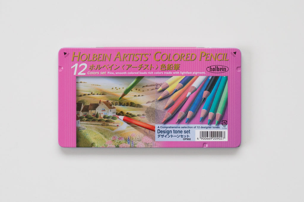 OP902 'Set 12C Design Tone' Colored Pencil Holbein