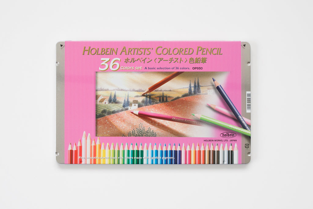 OP930 'Set 36 colors' Colored Pencil Holbein