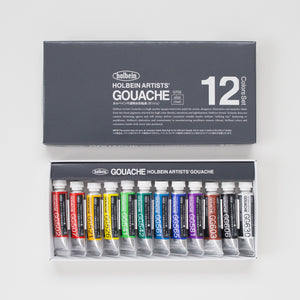 Holbein Gouache set 12 5ml