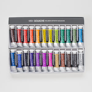 Holbein Gouache set 24 15ml