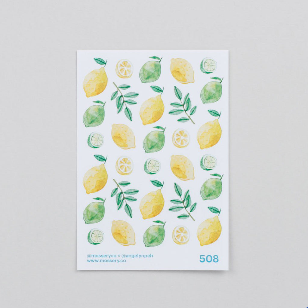 Mossery Stickers Lemons&Limes