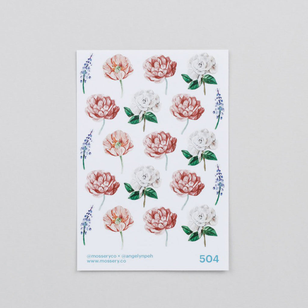 Mossery Sticker Flowers