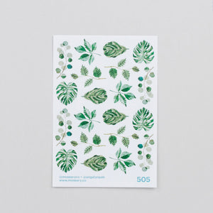 Mossery Stickers Leaves & Foilage