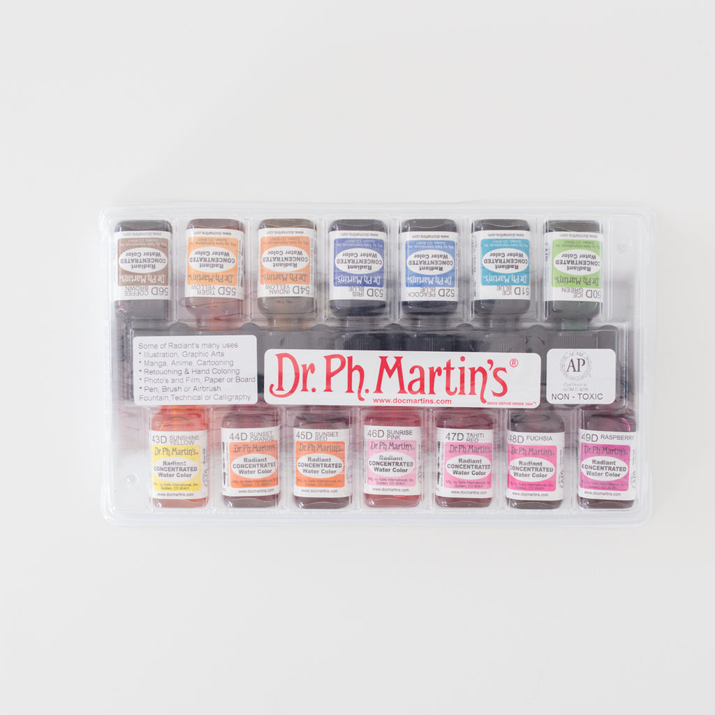 Radiant Concentrated Watercolor set D