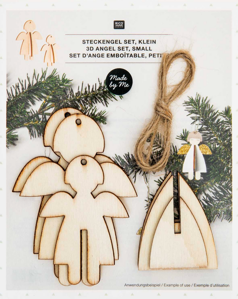 Wooden Angel set