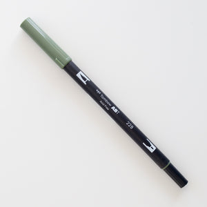 Tombow Dual Brush ABT 228 Grey Green