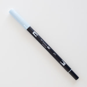 Tombow Dual Brush ABT 491 Glacier Blue