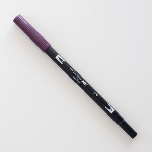 Tombow Dual Brush ABT 679 Dark Plum