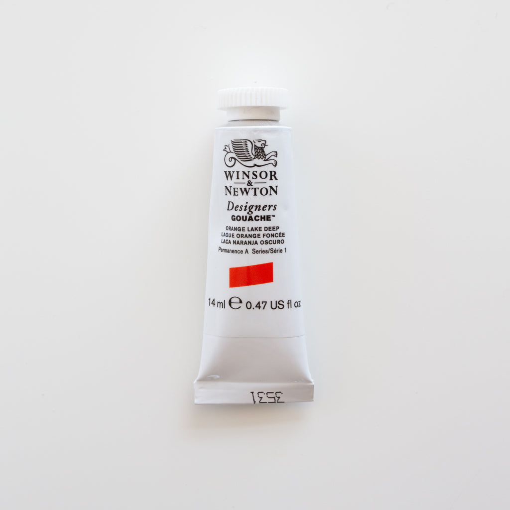 Winsor & Newton Designers Gouache 15ml Orange Lake Deep 1