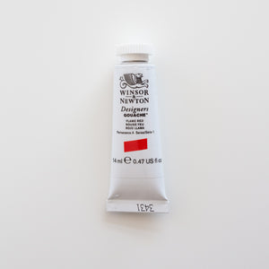 Winsor & Newton Designers Gouache 15ml Flame Red 1
