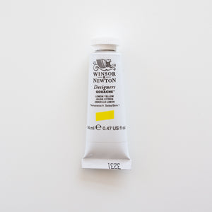 Winsor & Newton Gouache 15ml Lemon Yellow 1
