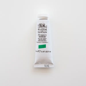 Winsor & Newton Designers Gouache 15ml Brilliant Green 1