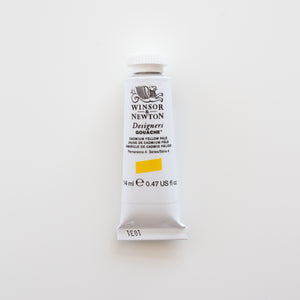 Winsor & Newton Designers Gouache 15ml Cadmium Yellow Pale 4