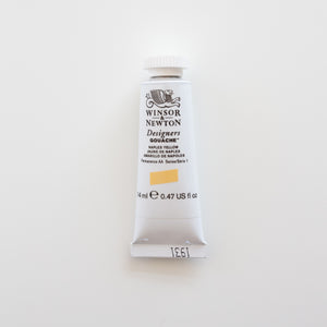 Winsor & Newton Designers Gouache 15ml Naples Yellow 1