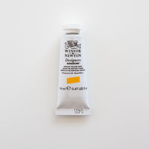 Winsor & Newton Designers Gouache 15ml Naples Yellow Deep 1