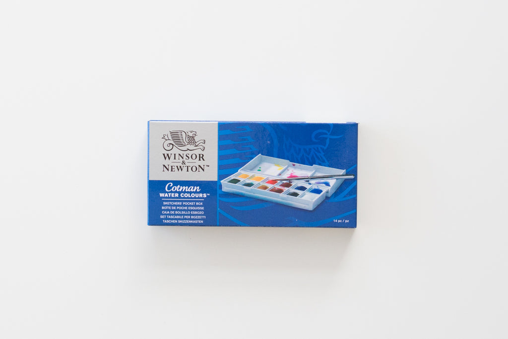 Winsor and Newton Cotman Aquarel palette 12 kleuren