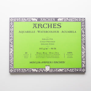 Arches Cold Pressed 26x36cm 180gms 12 sheets