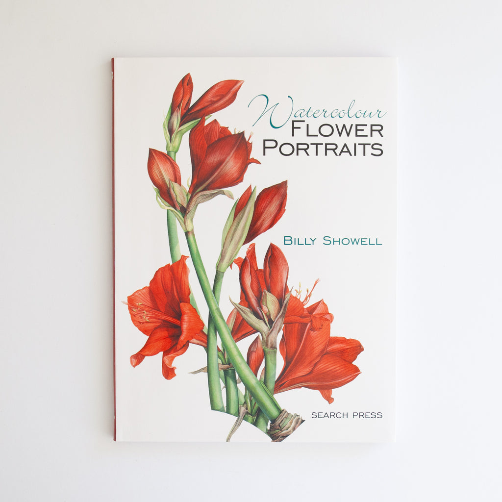Billy Showell Watercolor Flower Portraits
