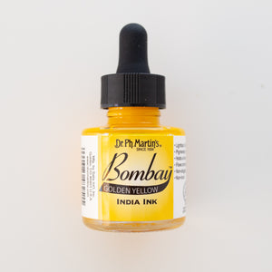 Bombay Ink Dr Ph Martins Golden Yellow