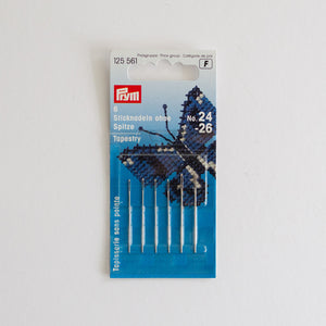 Prym embroidery needle blunt set 24-26