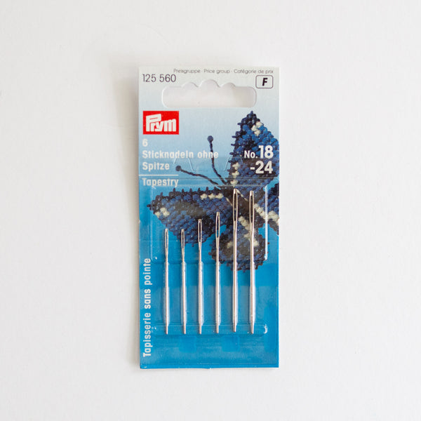 Prym borduurnaald stomp 18-24 | Prym embroidery needle blunt 18-24