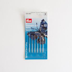 Borduurnaalden stomp Prym 22 | Embroiery needles blunt Prym 22