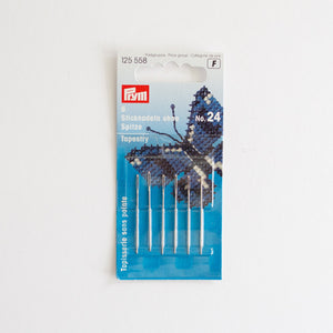 Borduurnaalden stomp Prym 24 | Embroiery needles blunt Prym24